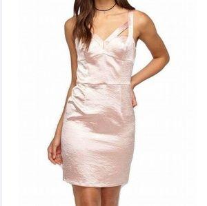 SALE!! Miss Selfridge Pale Pink Shimmer Dress